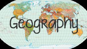 Geography Bingo Cards